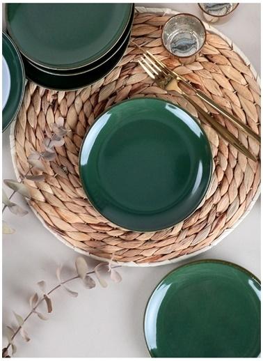 Keramika Pasta Tabağı Yeşil